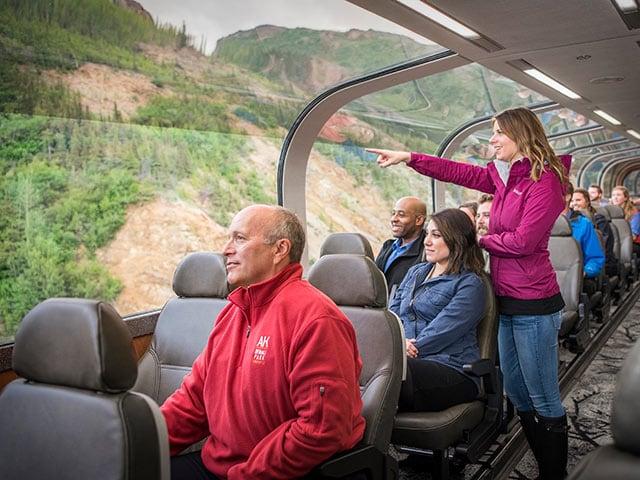 Princess Alaska Rail - Princess Cruises
