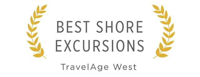 accolade: Best Shore Excursions by travel age west