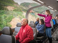 Glass Domed Railcars – Alaska Rail