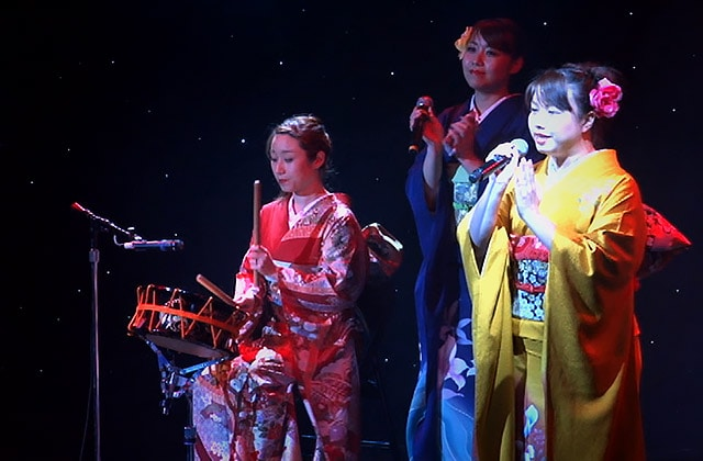 Japanese musical performance