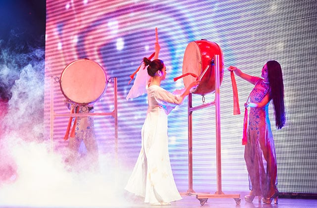 Musical Concert featuring Chinese drums