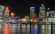 Experience the sights and sounds of Brisbane at night
