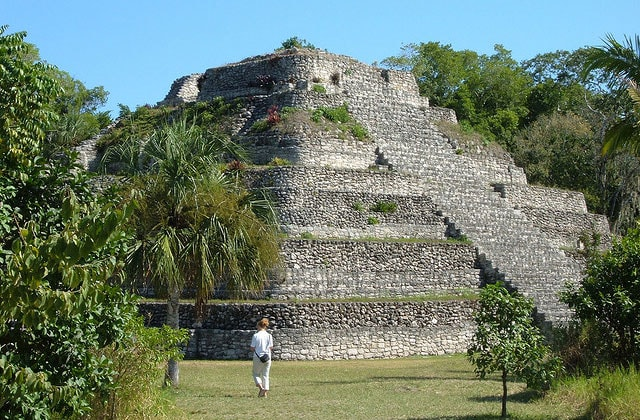 Mayan ruins that can be seen on a Western Caribbean Cruise