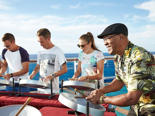 Authentic Caribbean Music – Steel Pan Drums | Princess Cruises