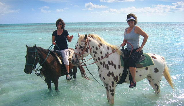 Beach Horseback Riding – Caribbean | Princess Cruises