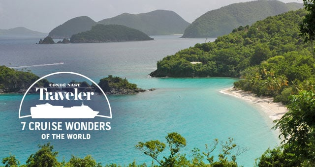 Trunk Bay, St John a Cruise Wonder