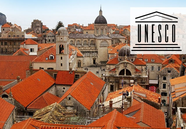 UNESCO World Heritage Site – The medieval town of Dubrovnik in Croatia