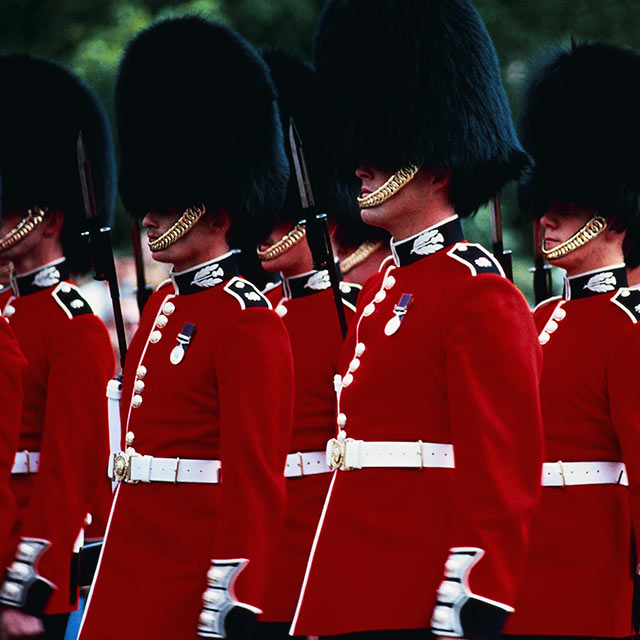 Buckingham Palace Guards – Princess Cruises
