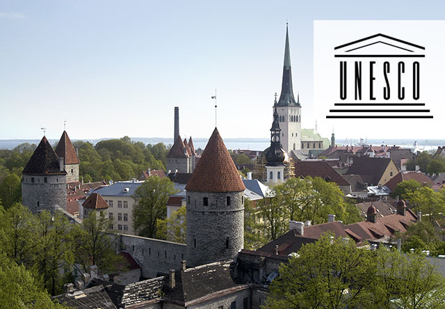 UNESCO World Heritage Sites – Old Town Tallinn, Estonia