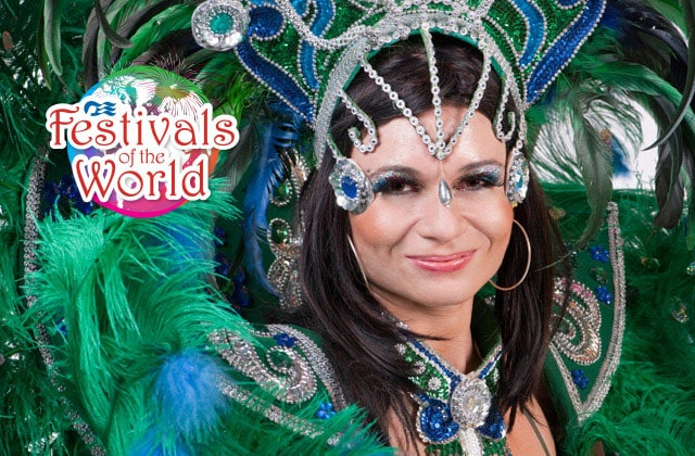 Image of the Princess Cruises Carnaval de Panama Festival of the World celebration