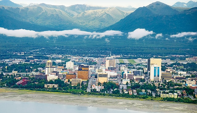 port image of Anchorage, Alaska