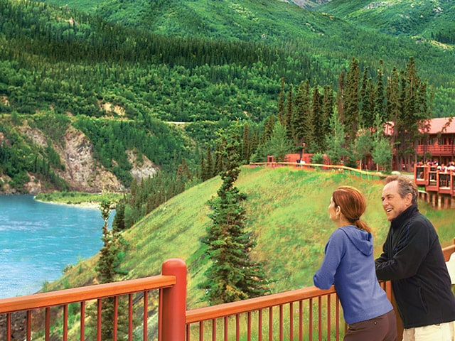 Denali Princess Wilderness Lodge resort, a land excursion as part of an Alaska Cruise, sits just outside of the Denali National Park boundary, making it an ideal home base for exploring the national park and surrounding attractions.