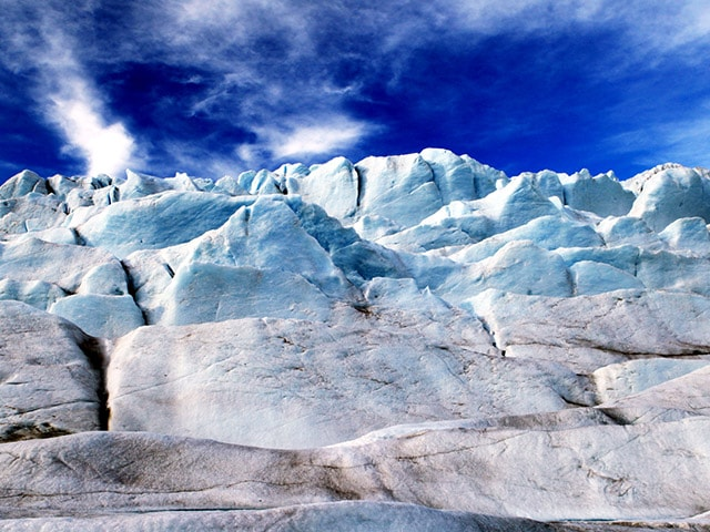 A closer look at Mendenhall Glacier