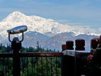 Spectacular views from Mt. McKinley Princess Wilderness Lodge