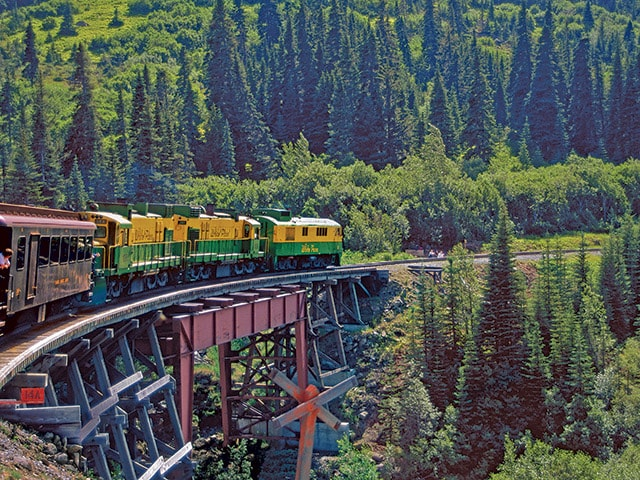 White Pass & Yukon Route Railroad Journey from Skagway