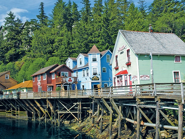 Historic Creek Street in Ketchikan