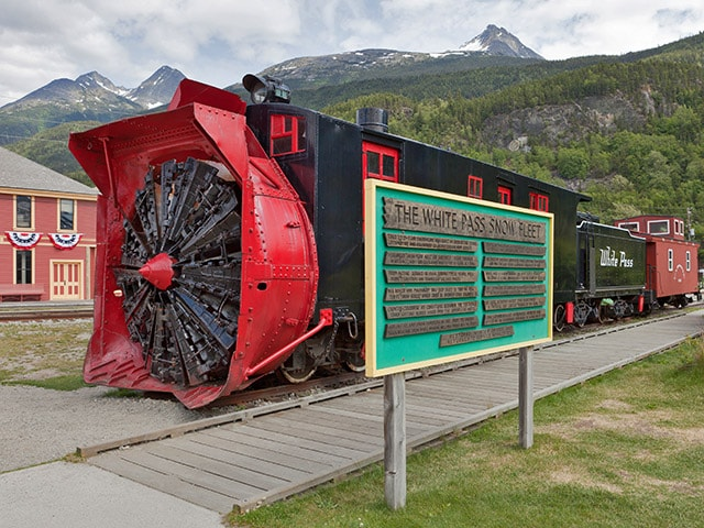 White Pass Snow Fleet - Skagway