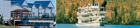 Fairbanks, Alaska Princess Riverside Lodge and Riverboat