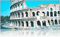 Roman Colosseum in Rome, Italy- Europe Cruises