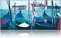 Gondolas in Venice, Italy- Princess Cruises