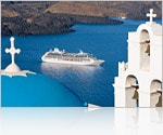 Sailing by Mykonos, Greece on Mediterranean Europe Cruises- Princess Cruises