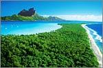 Beach on Princess Tahiti Cruise
