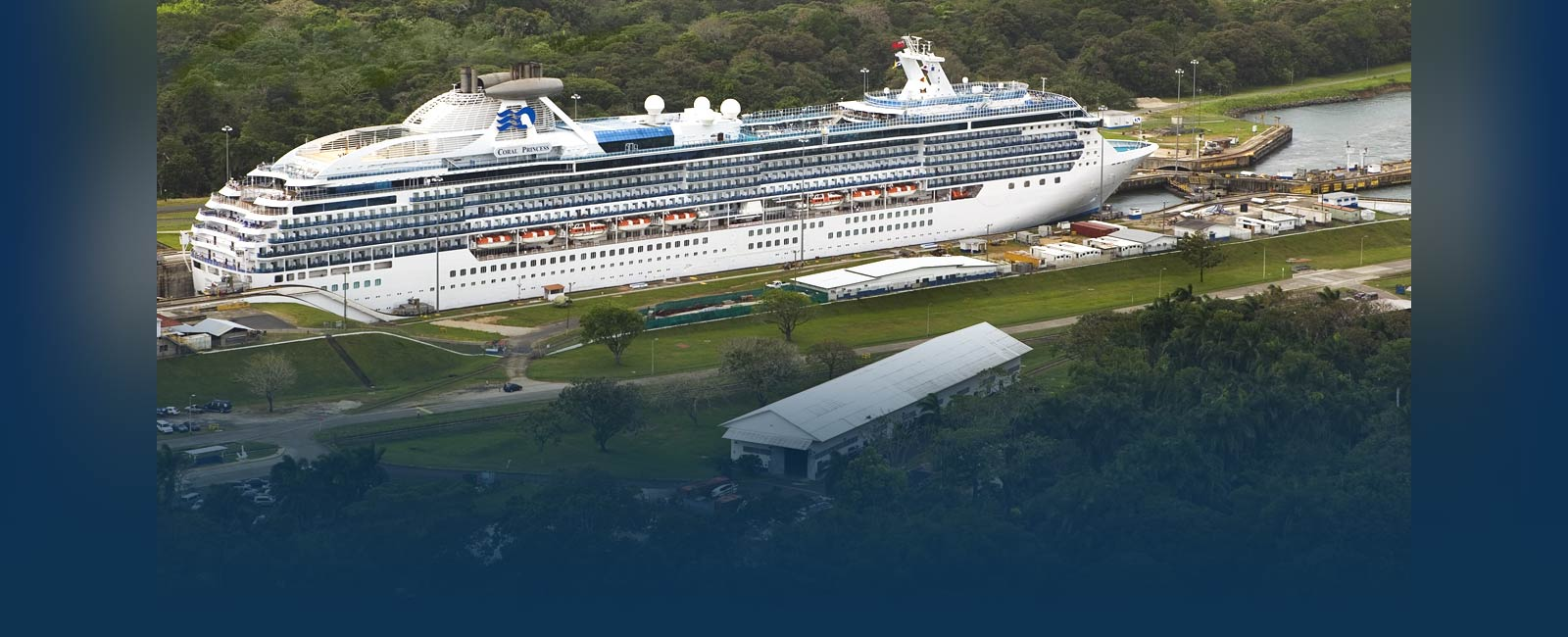 Coral Princess in the Panama Canal