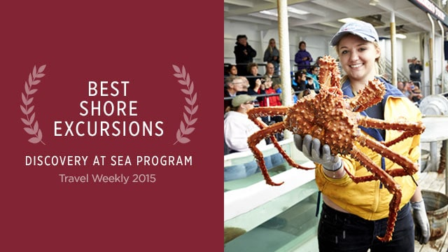 Best Shore Excursions - Discovery Program at Sea