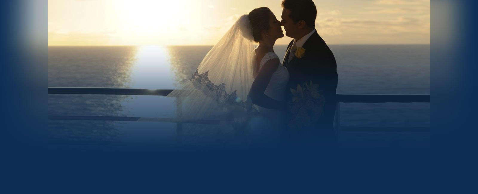 Wedding Cruise During Sunset