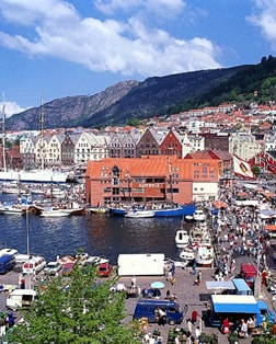 Main port photo for Bergen, Norway