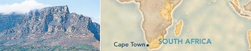 Cape Town, South Africa : Embarkation Port