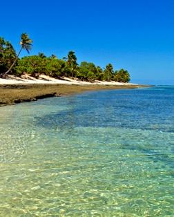 Main port photo for Mystery Island, Vanuatu