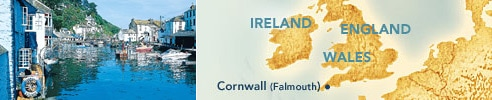 Cornwall (Falmouth), England : Ports of Europe