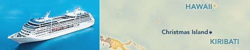 Christmas Island, Kiribati : Ports of Hawaii & Tahiti