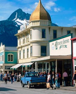 Main port photo for Skagway, Alaska, United States