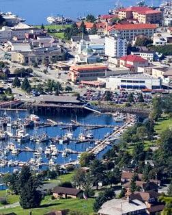 Main port photo for Sitka, Alaska