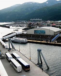 Main port photo for Anchorage (Whittier), Alaska, United States