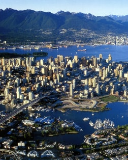 Main port photo for Vancouver, British Columbia, Canada