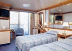 Crown Princess : Oceanview Double with Balcony
