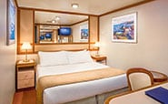 Emerald Princess : Interior with two lower beds
