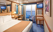 Emerald Princess : Oceanview Double with Balcony
