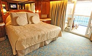 Golden Princess : Grand Suite with Balcony