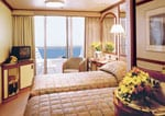 Sea Princess : Oceanview Double with Balcony