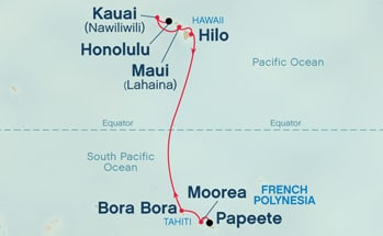 Day Hawaii Tahiti Cruises With Princess From US Special - Cruise to tahiti
