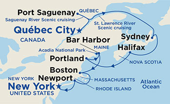 Classic Canada Amp New England Cruise Travel Best Bets