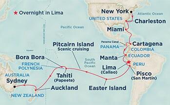 Zoom sur l'itinéraire