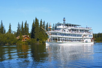 Princess cruises excursion riverboat discovery cruise gold riverboat discovery cruise gold dredge 8 combo sciox Images