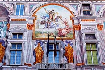 Genoa: Via Garibaldi & Famed Palazzos Enlarged image 1