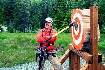 Alaska Zipline Adventure & Axe Throwing Thumbnail image 2