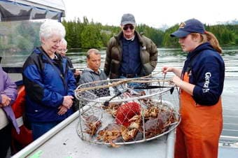 Princess Cruises Excursion Wilderness Exploration Cruise Amp Crab Feast